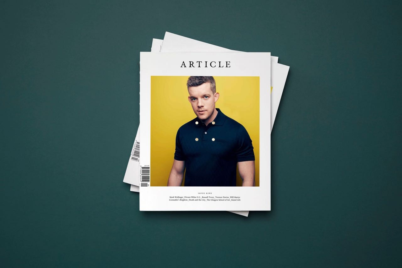 Article-magazine-issue-9-cover-russell-tovey