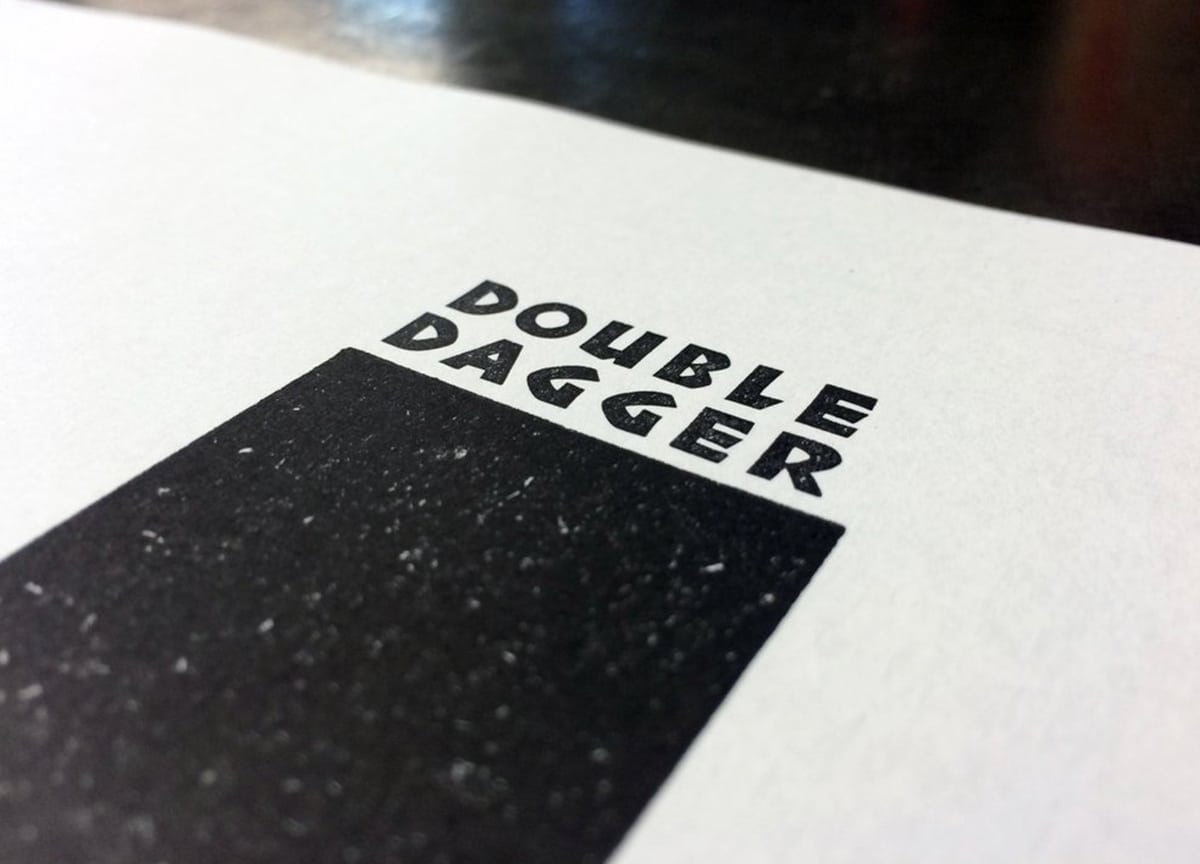 double-dagger-magazine-letterpress-cover