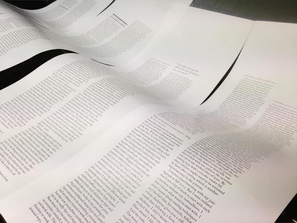 double-dagger-magazine-letterpress-page