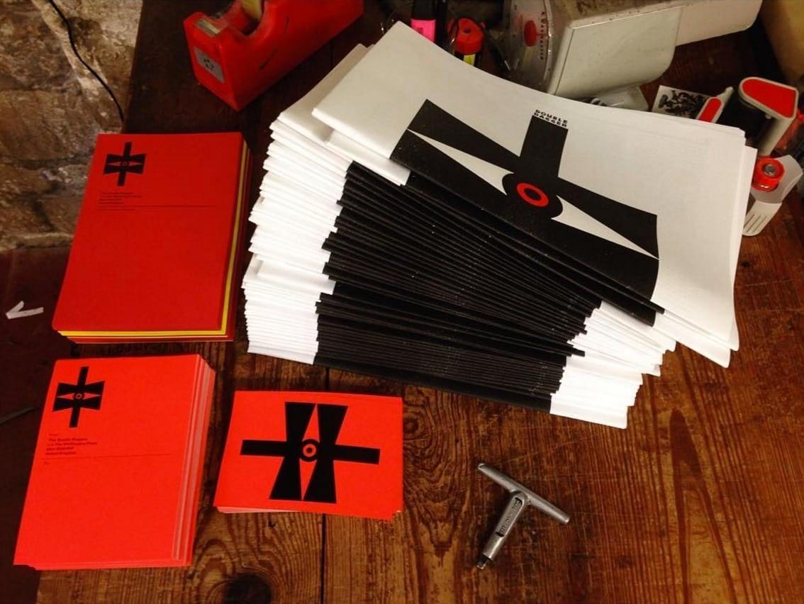 double-dagger-magazine-letterpress-pile