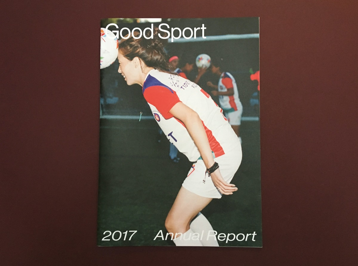 Good Sport Annual Report cover