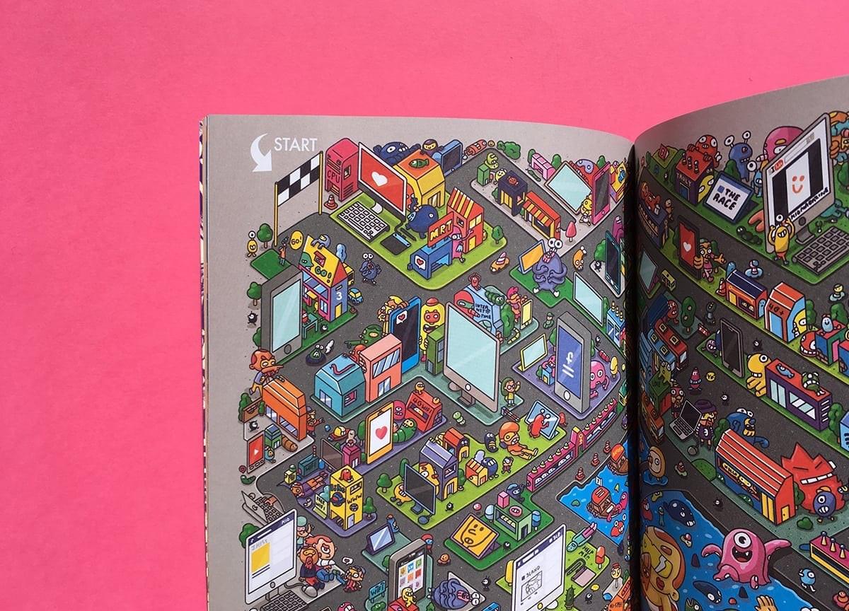 eyeyah-magazine-illusrtated-maze