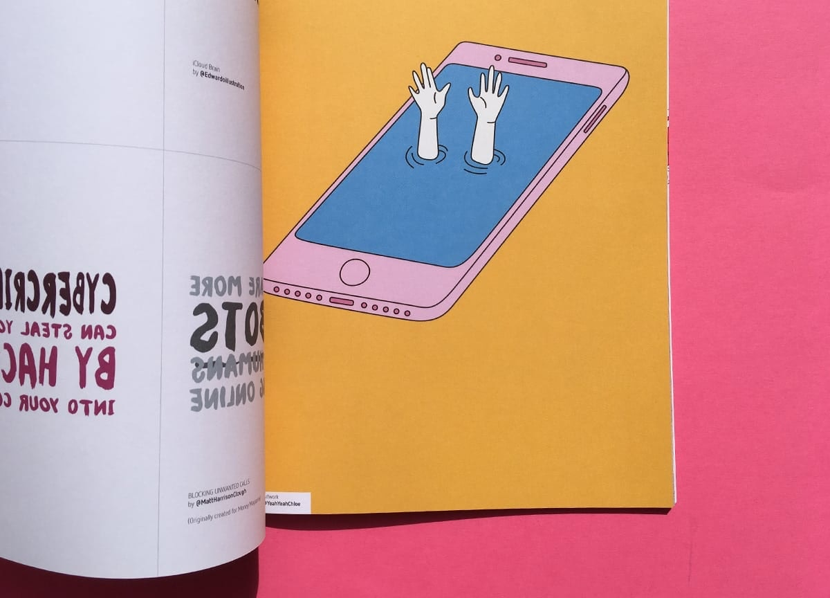 eyeyah-magazine-smartphone-hands-illustration
