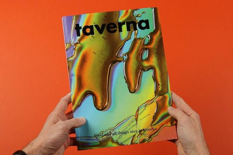 Greek food meets Greek gods in Taverna magazine - STACK