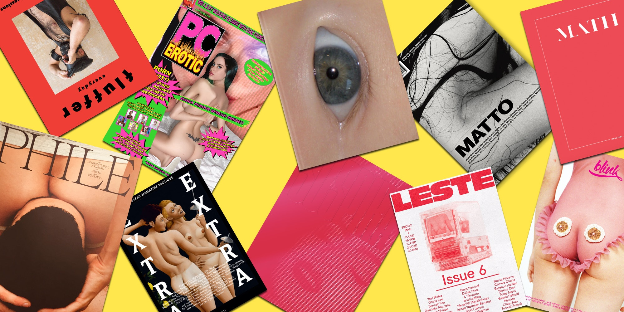 Best independent erotic magazines right now (NSFW)